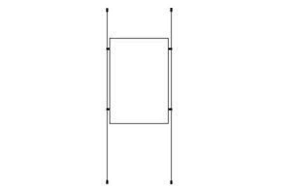 Picture of 1 x A1 Portrait Cable Pocket Display Kit