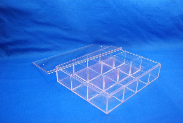 Picture of 12 Box Tray Clear (ch-888-3)