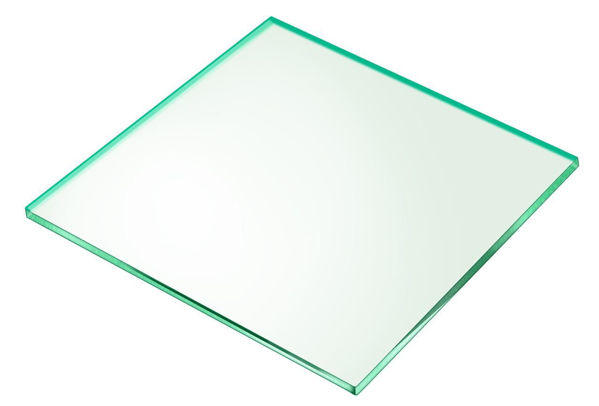 Picture of 280 x 280 x 5mm Glass Look Acrylic Shelf