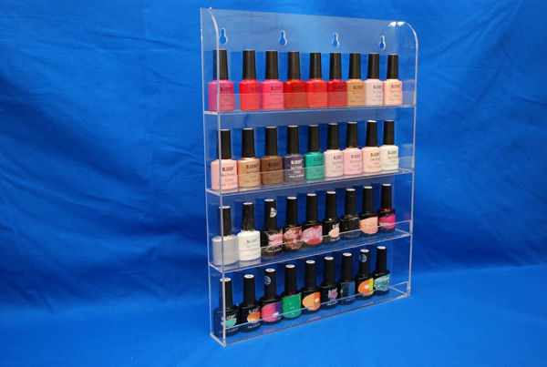 Picture of 4 Tier Nail Bottle Wall Stand