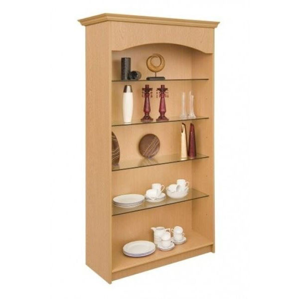 Picture of 700 Series Wall unit Open Front & 4 Shelves (J7DSP04)