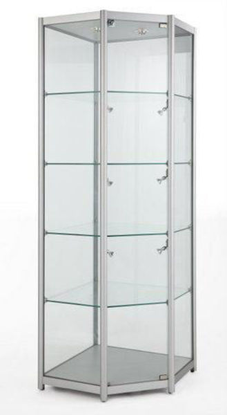 Picture of Corner Tower Glass Show Case (R1565)