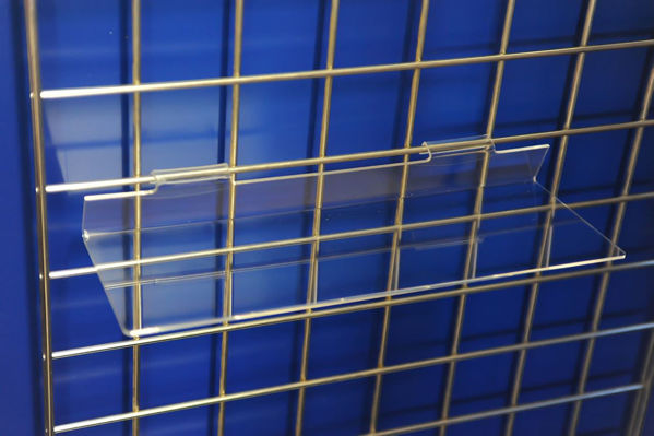 Picture of Gridwall Flat Shelf 400 x 150