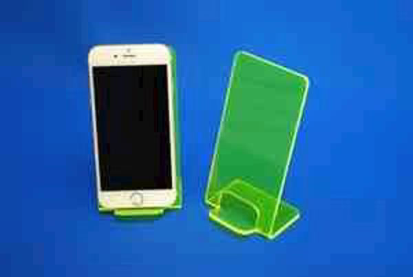 Picture of Large Neon Phone Stand Green