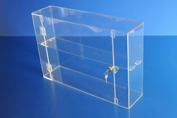 Picture of Lockable Display Cabinet 400 x 600 x 150