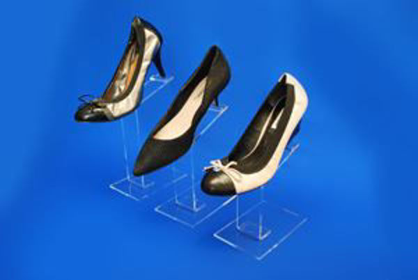 Picture of Set of 3 Slimline Shoe Stands
