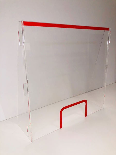Picture of Shop Counter Screen 800mm wide x 1m high