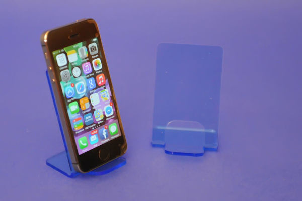 Picture of Small Neon Phone Stand Blue