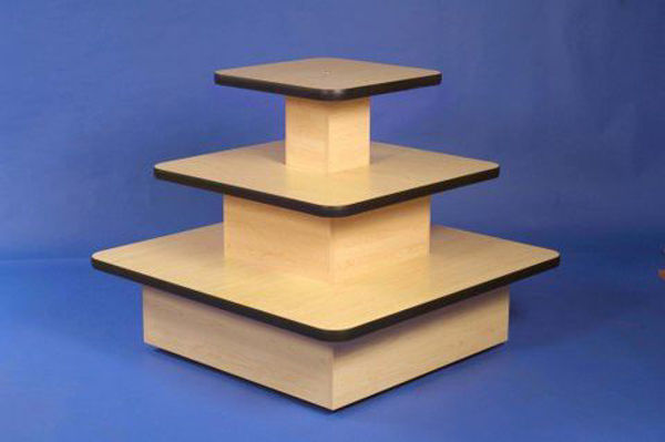 Picture of Three Tier Square Table (R1531)