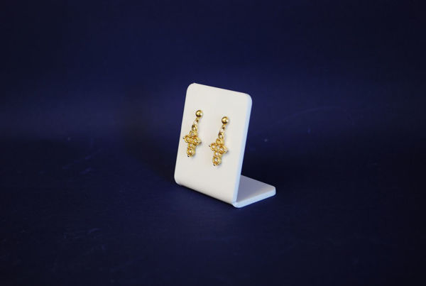Picture of White Earring Display Stand